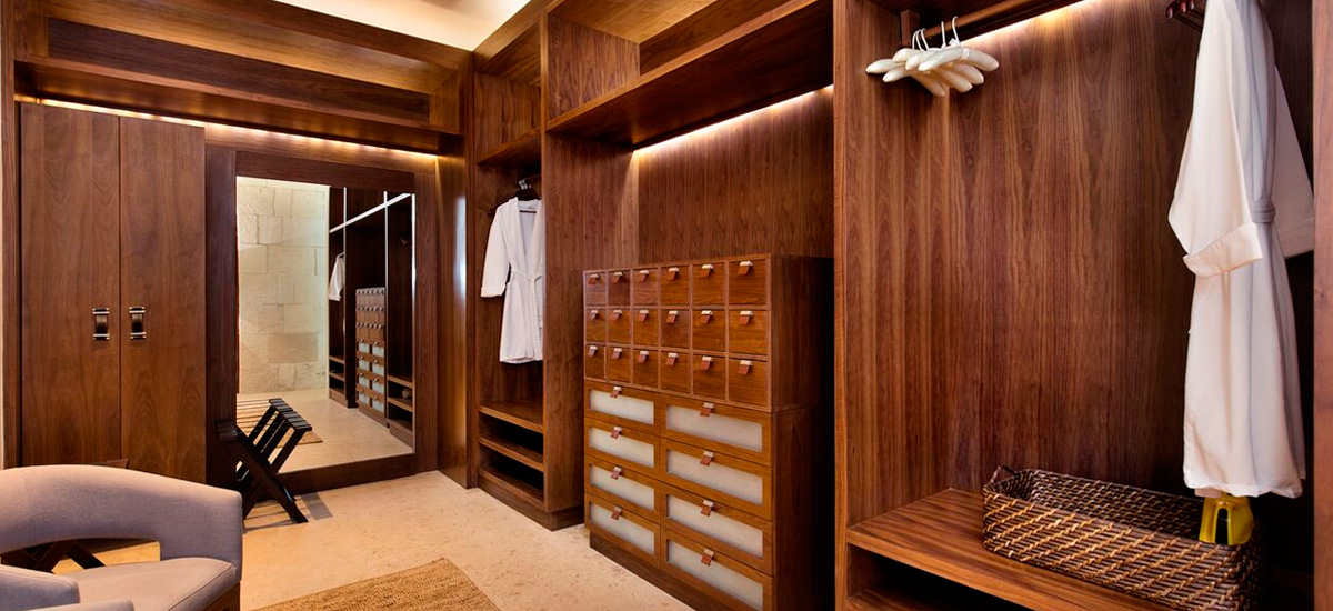 chable presidential dressing room
