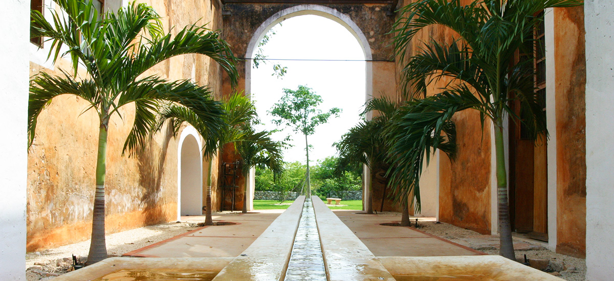 hacienda petac fountain