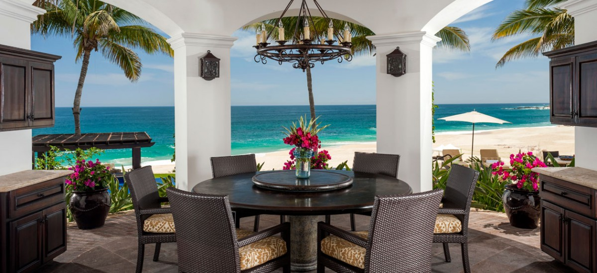 casa bahia rocas outdoor table
