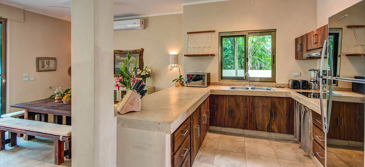 villa soliman kitchen