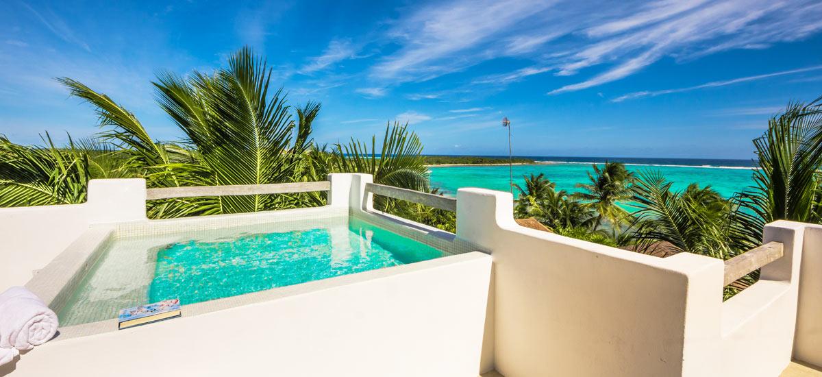 villa soliman plunge pool