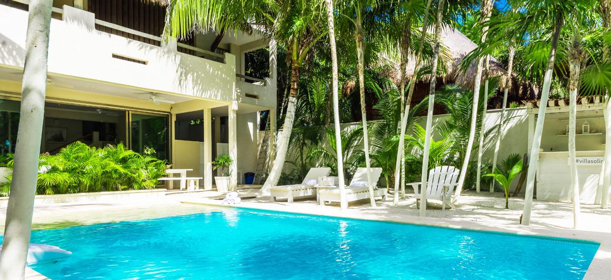 villa soliman pool