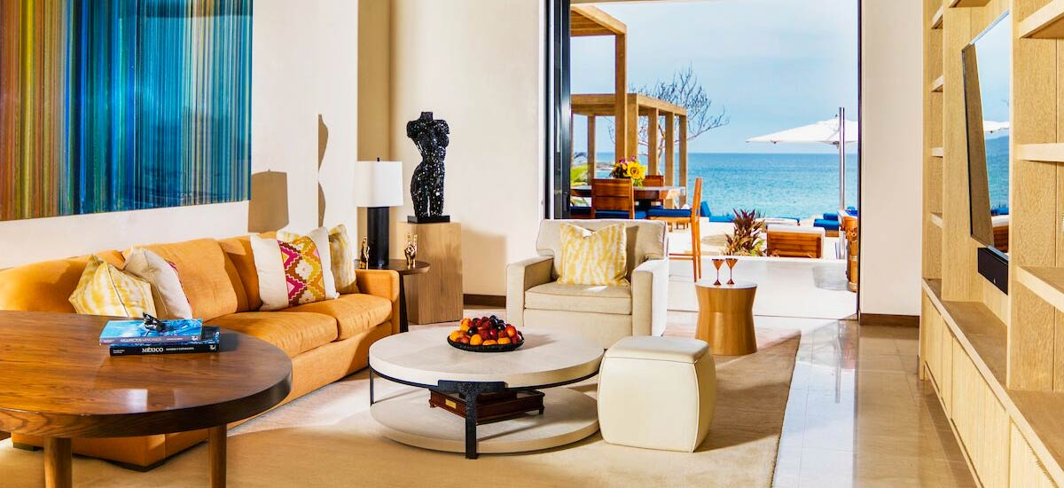 brisa del mar living room