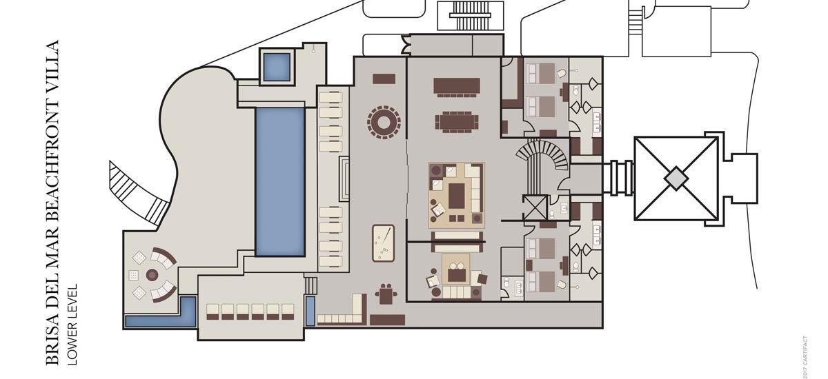 brisa del mar lower lever floor plan