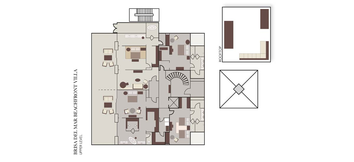 brisa del mar upper level floor plan