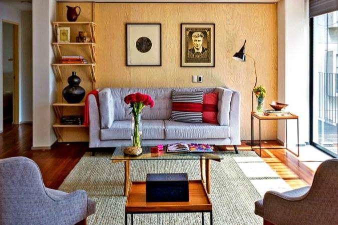 The living area in Bugambilia