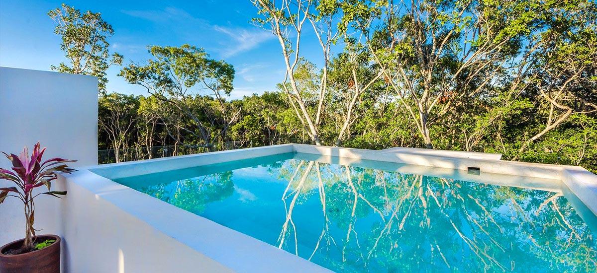 casa adama tulum pool 2
