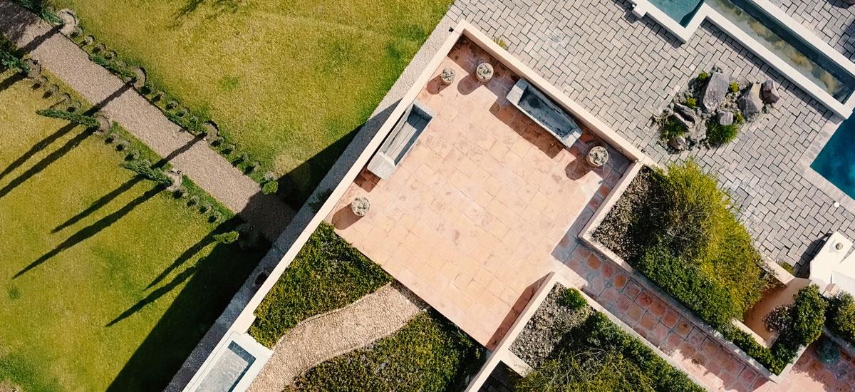casa adela dron view