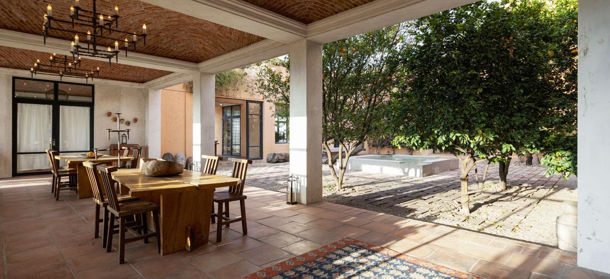 casa adela outdoor space