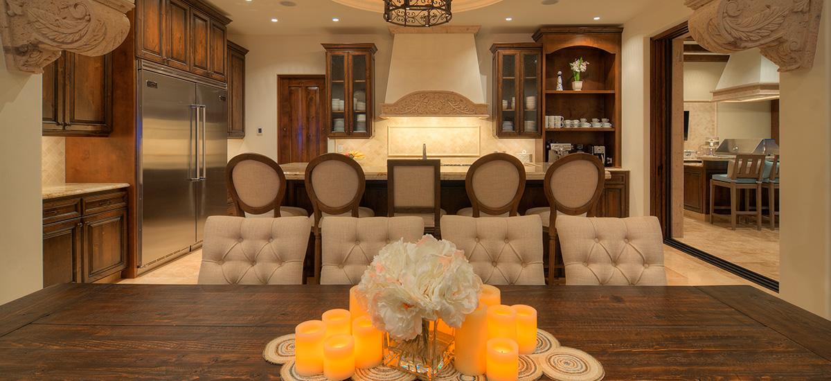 casa bella dinner table