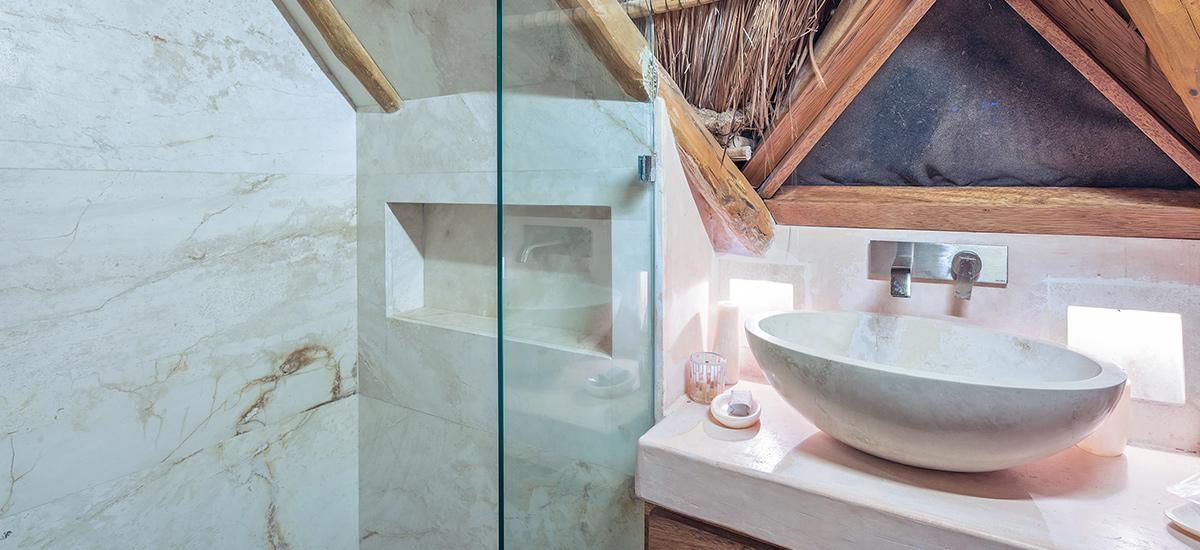 casa cantarena bathroom details