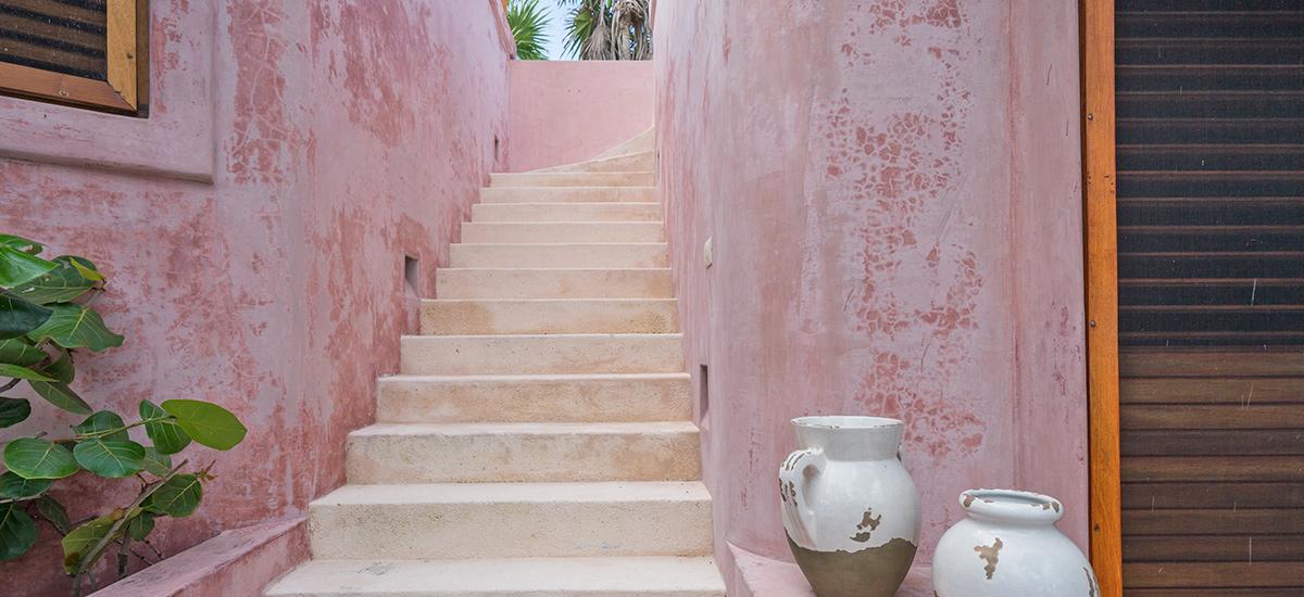 casa cantarena stairs
