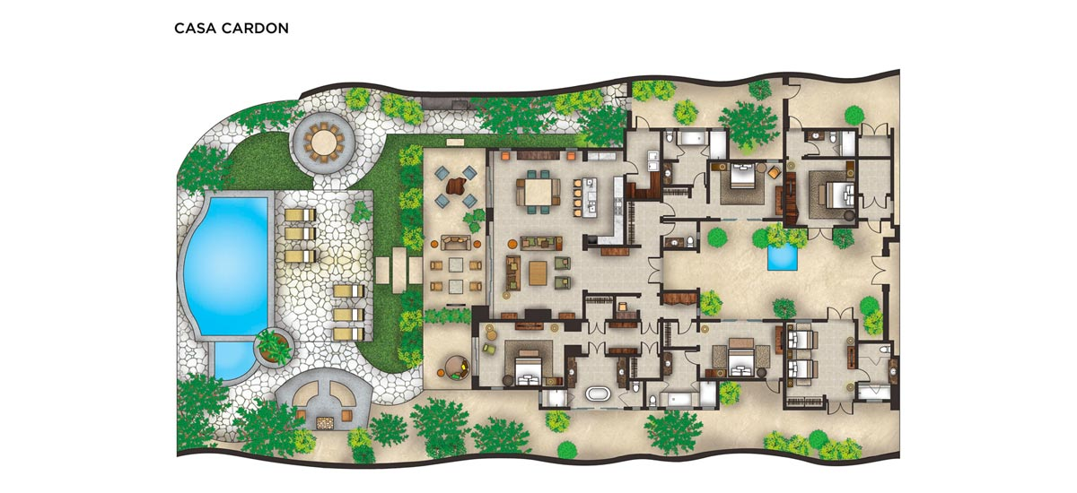 casa cardon floor plan