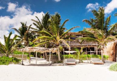 casa chukum beach front villa in tulum