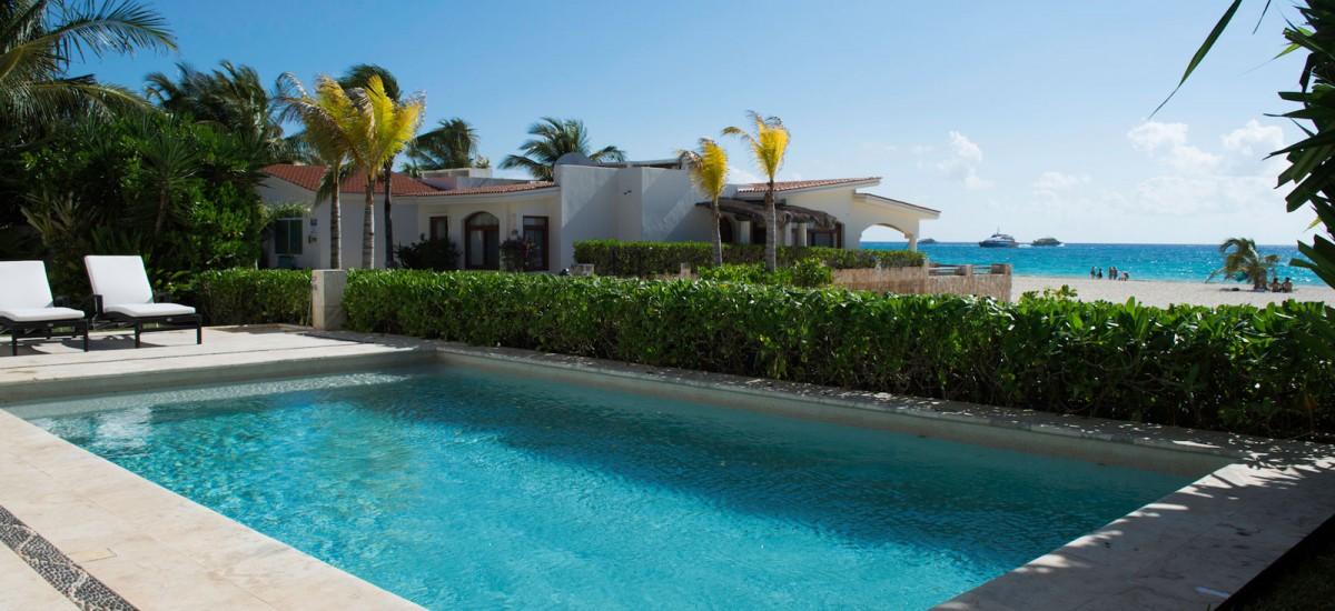 casa clara riviera maya pool