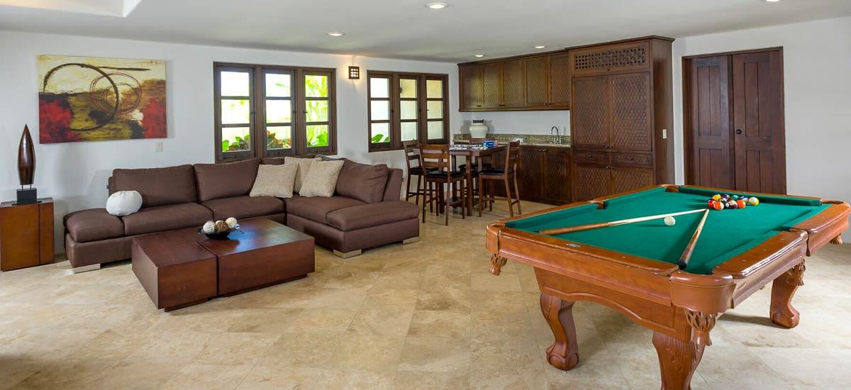 casa contenta pool table