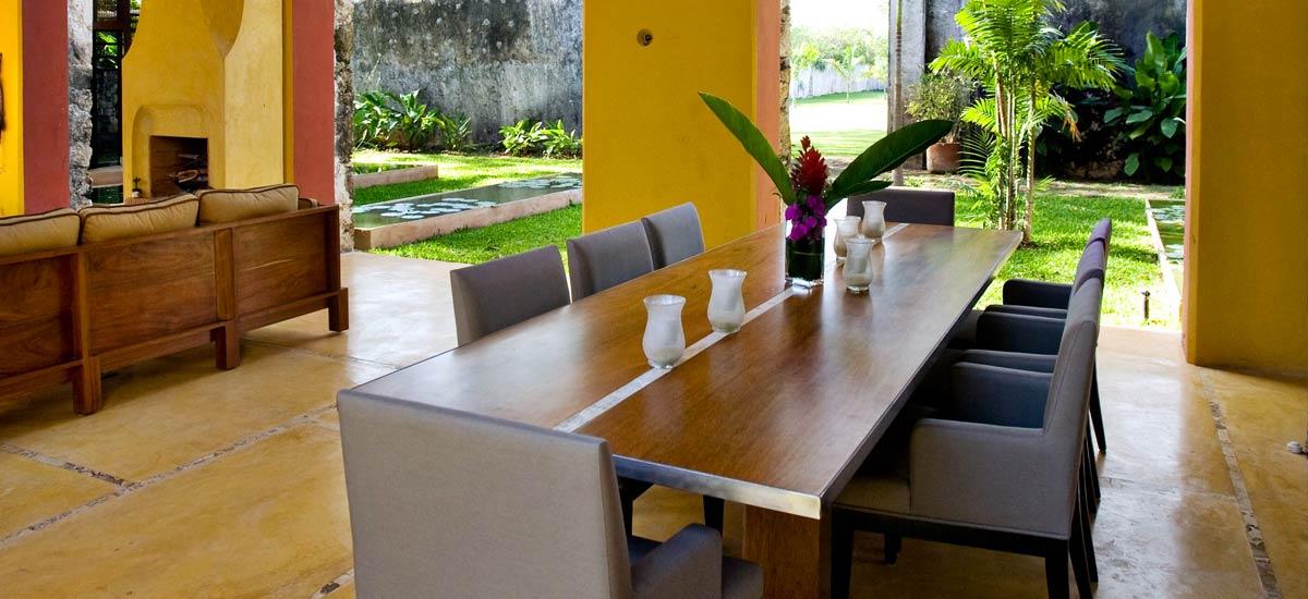 casa de maquinas dining room