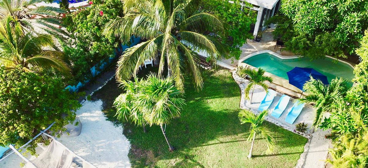 casa del cielo isla mujeres pool