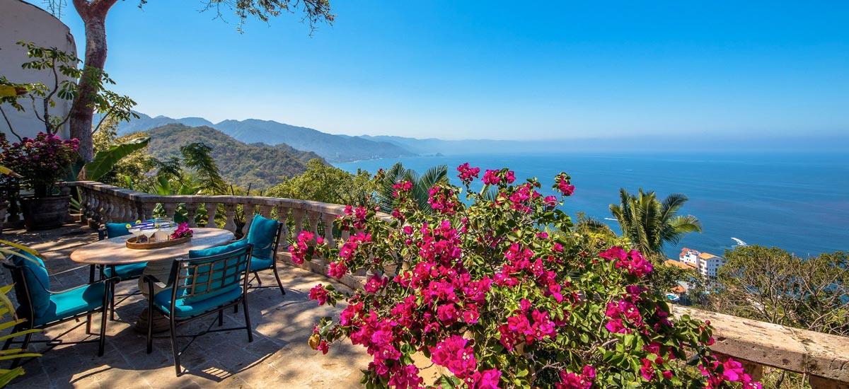 casa del quetzal ocean view vallarta