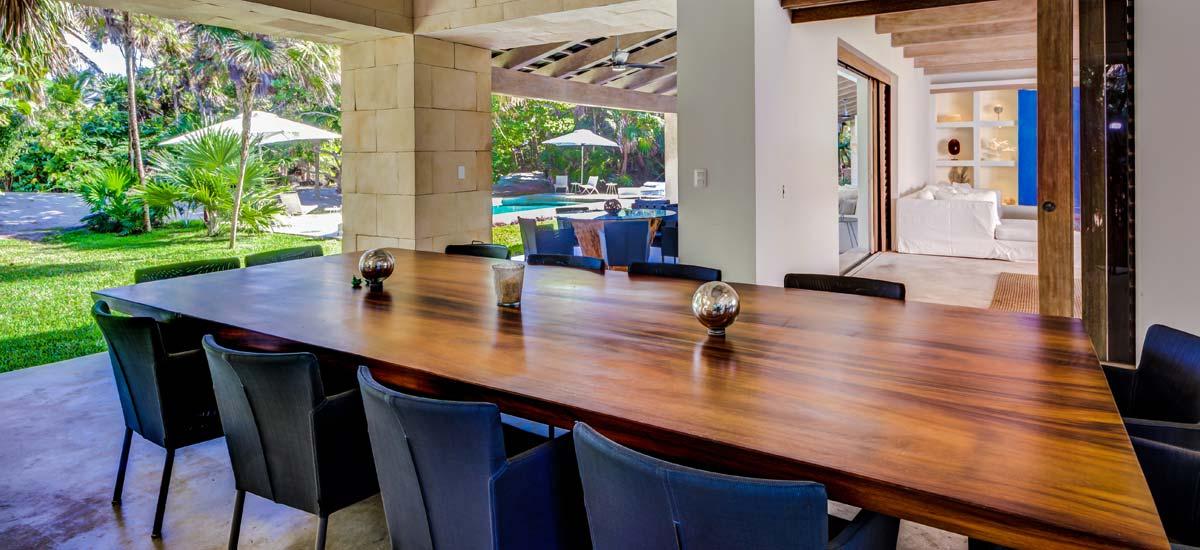 casa ixchel dining room
