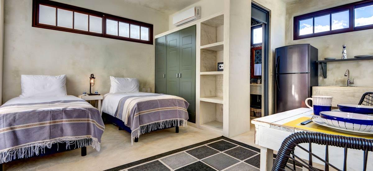 casa kevali double bedrooms