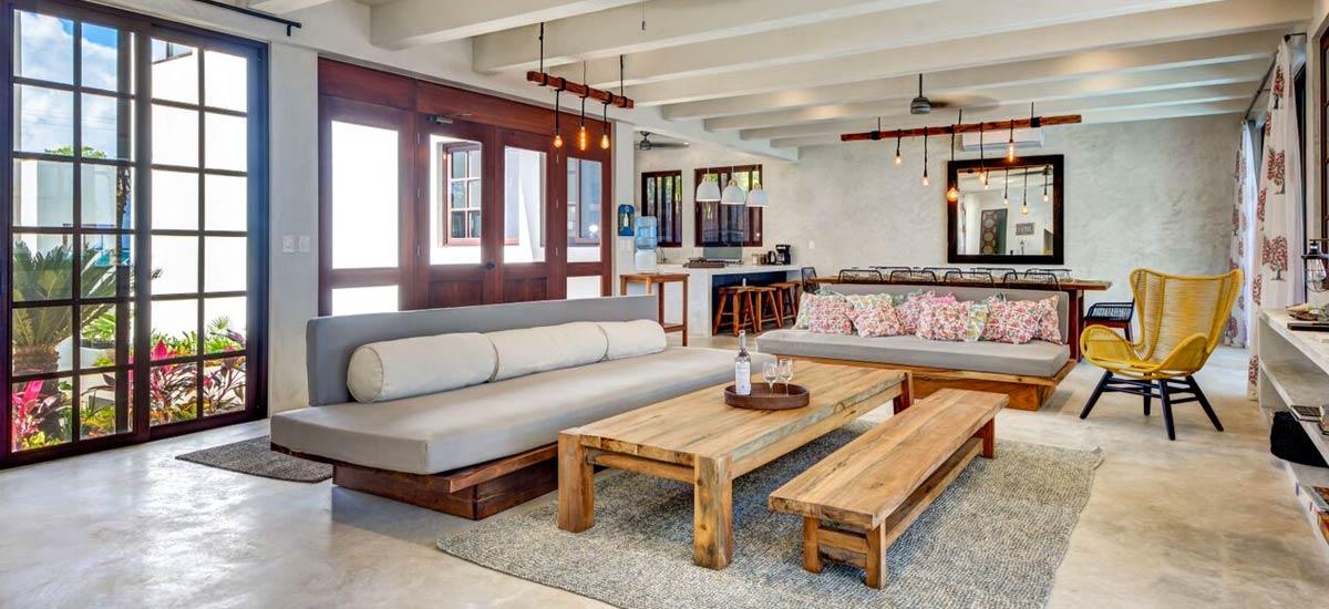 casa kevali living room