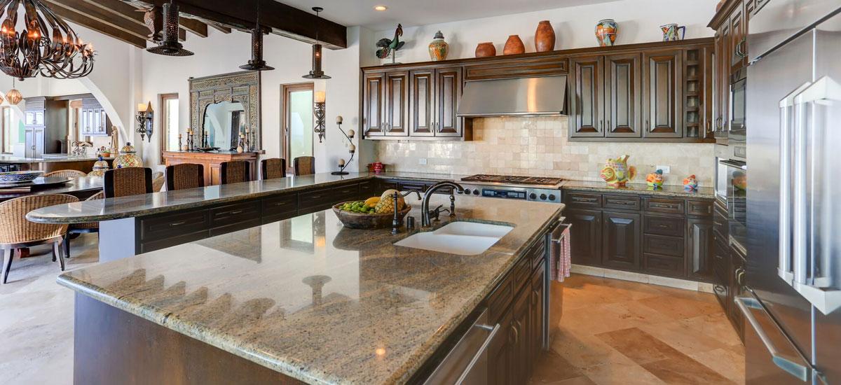 casa la laguna full kitchen