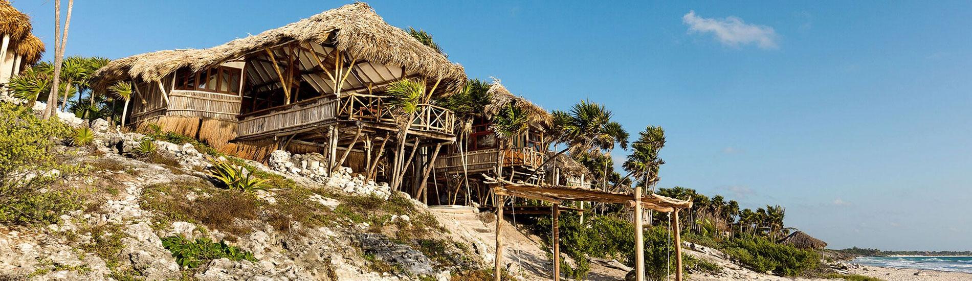 Casa madera riviera maya journey mexico luxury villas for Villas tulum