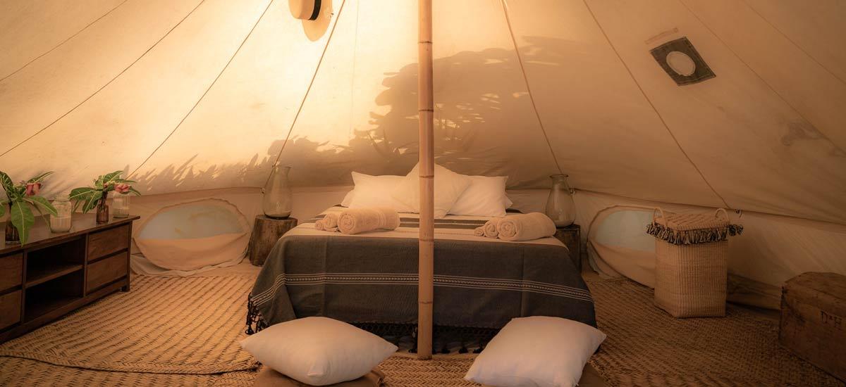 casa maya kaan bell tent 2