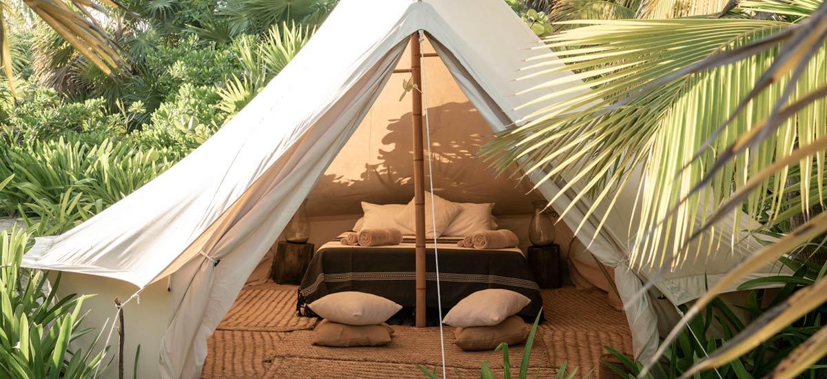 casa maya kaan bell tent