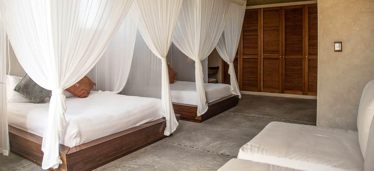 casa maya kaan double room