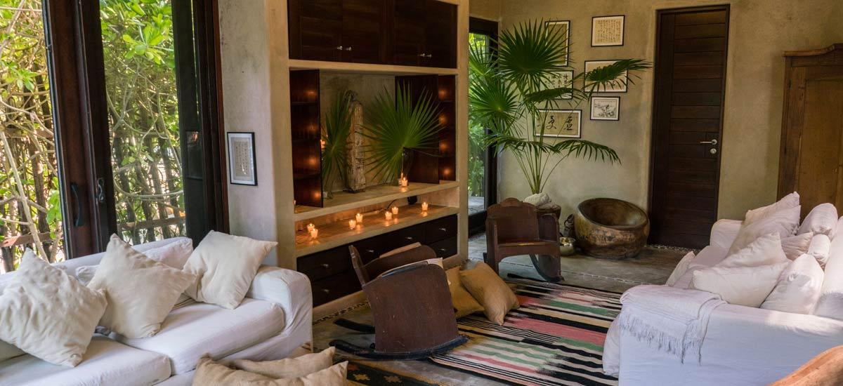 casa maya kaan living room 3