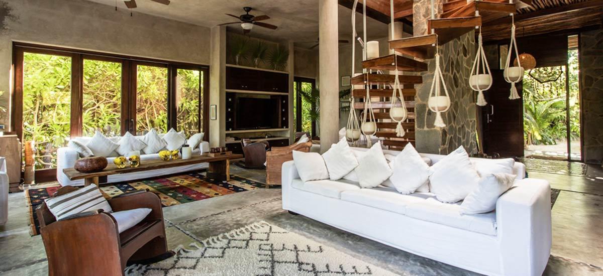 casa maya kaan living room 6