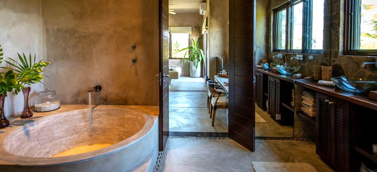 casa maya kaan suite tub