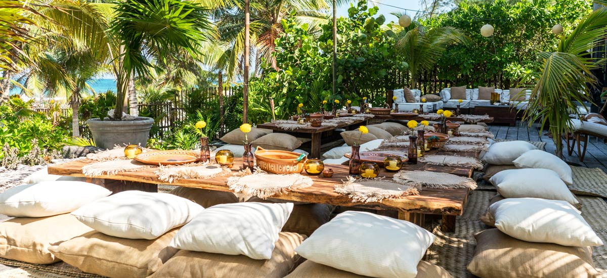 casa maya kaan terrace dining