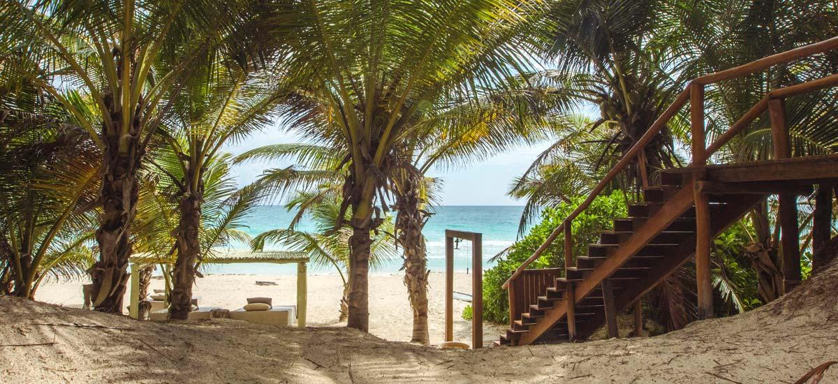 casa nalum beach entrance