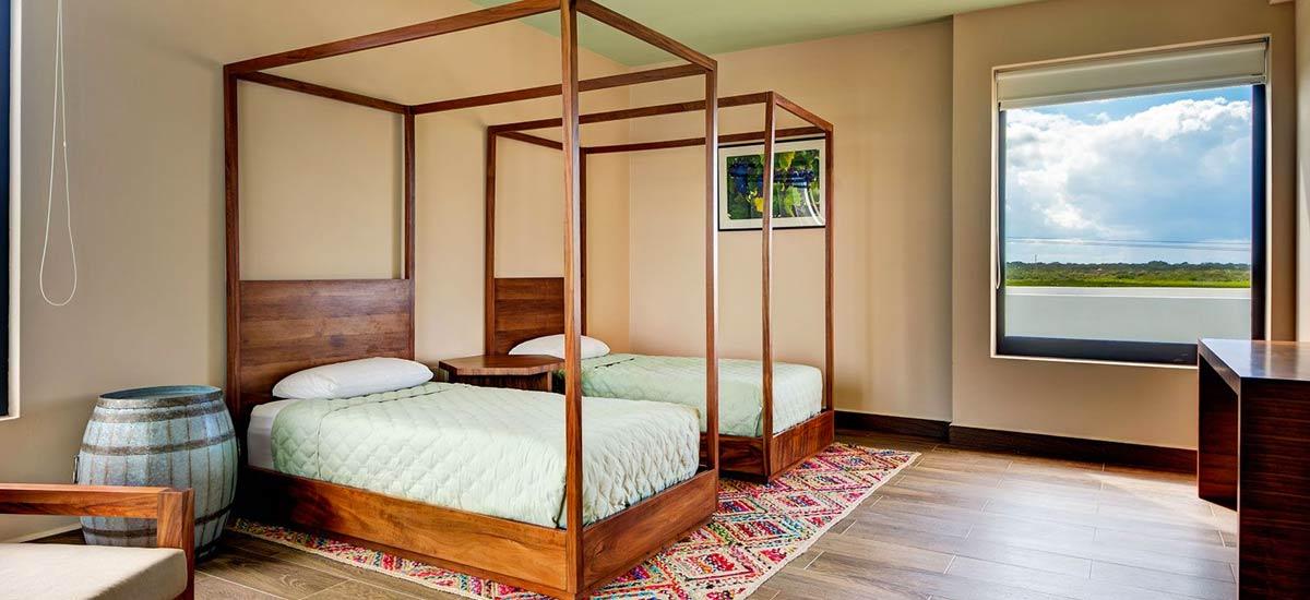casa napa douuble singles bedroom 2