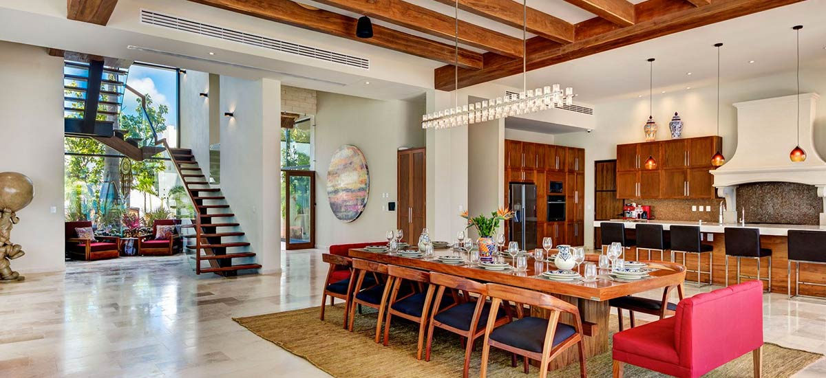 casa napa dining room