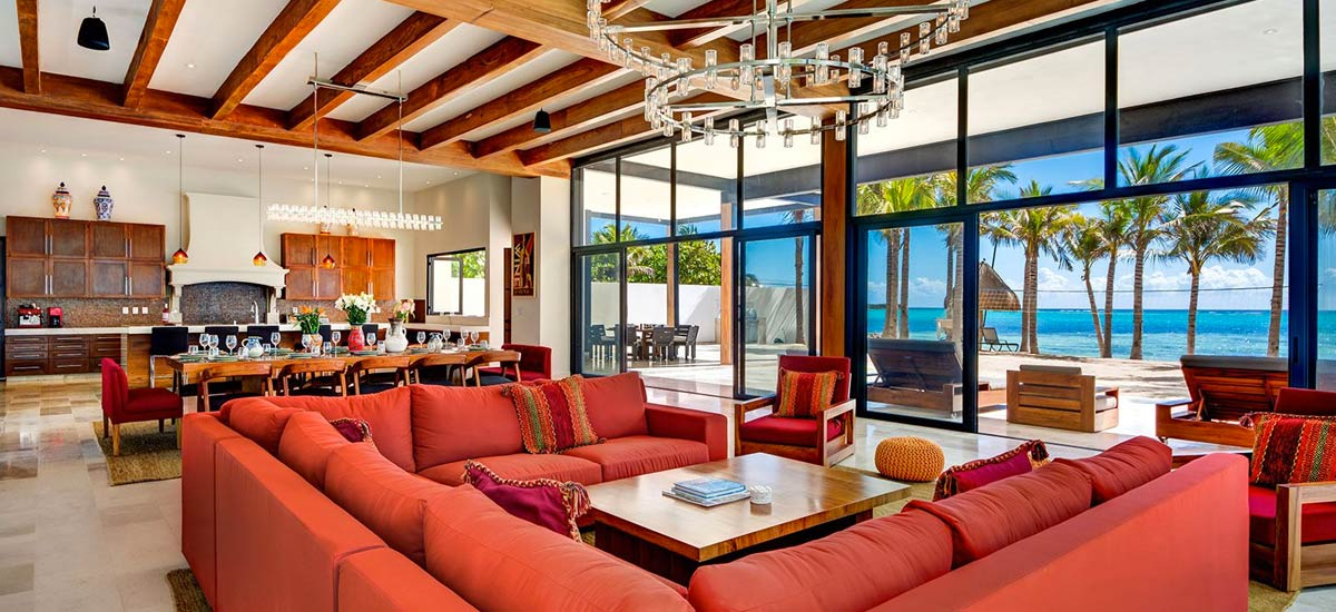 casa napa living room