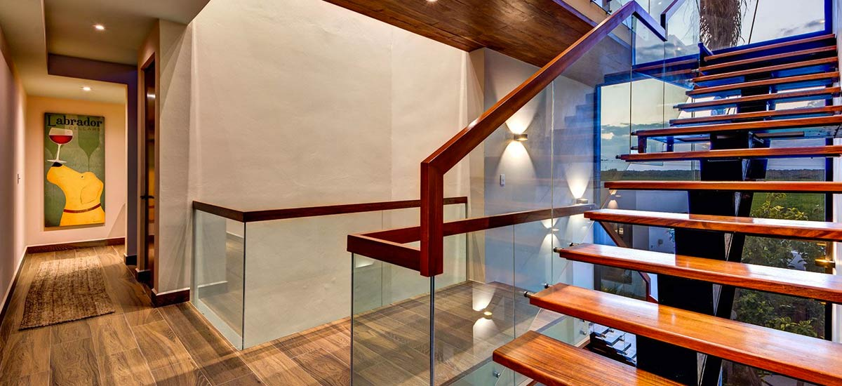 casa napa stairs