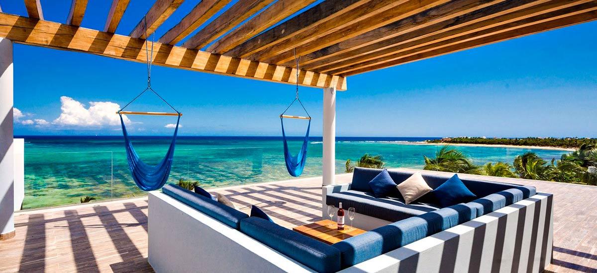 casa napa terrace ocean view