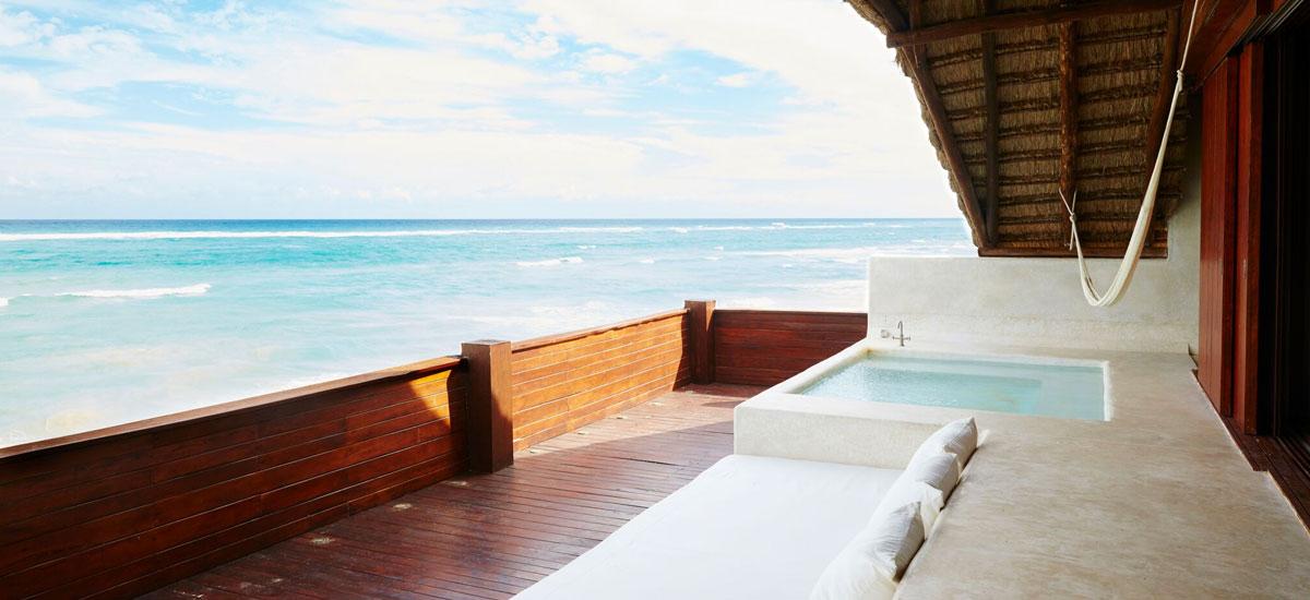 casa palapa beach view