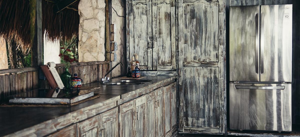 casa palapa kitchen