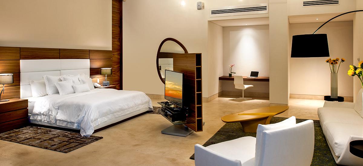 casa papelillos bedroom