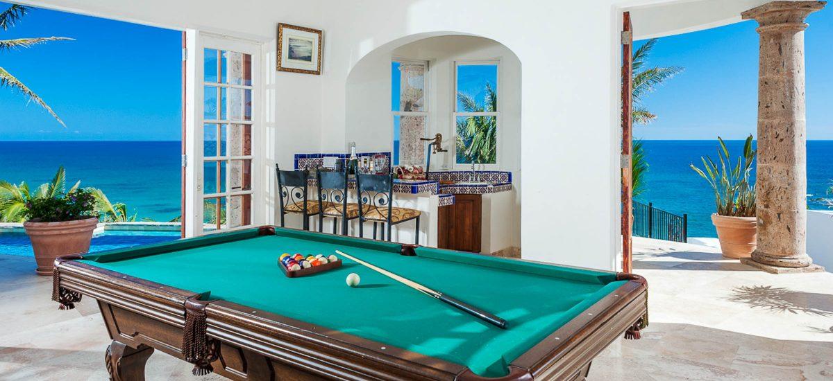 casa paraiso pool table
