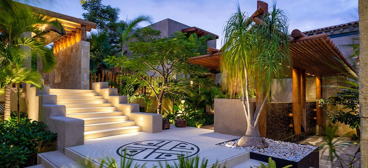 Casa Roka courtyard
