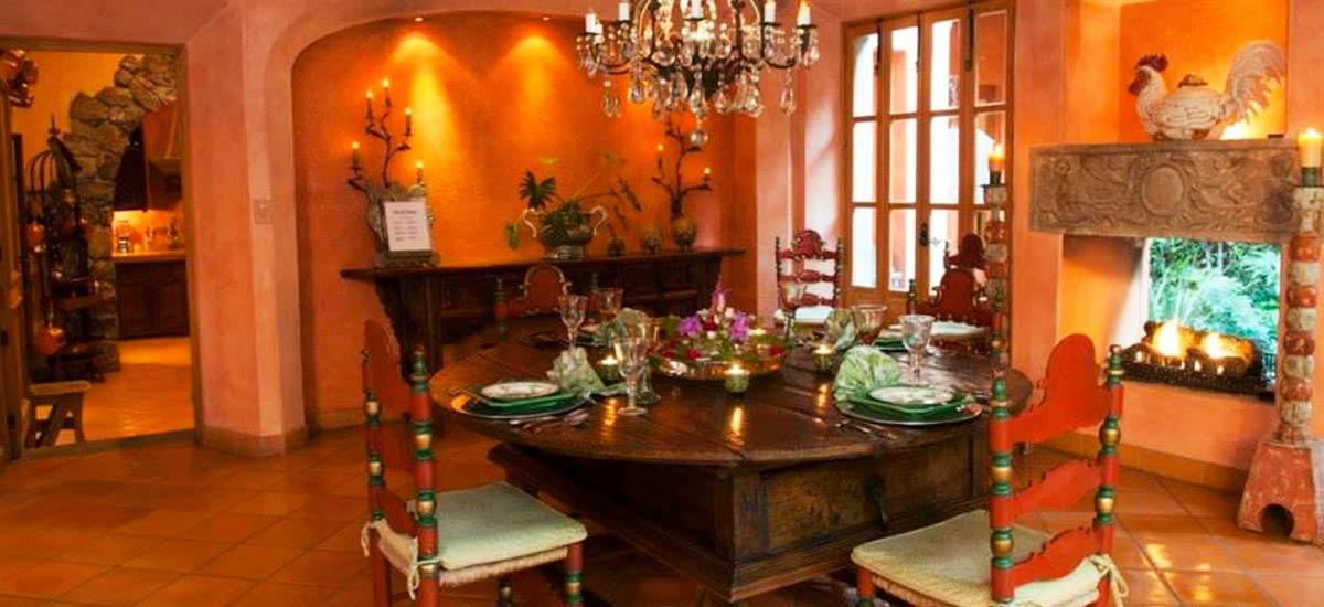 casa san miguel dining table
