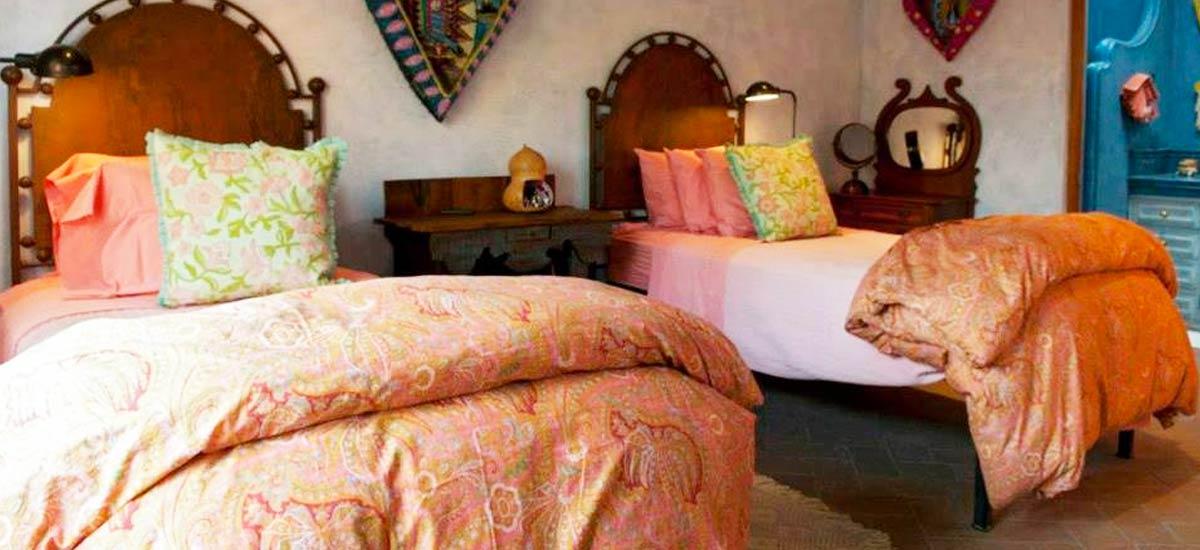 casa san miguel twin beds