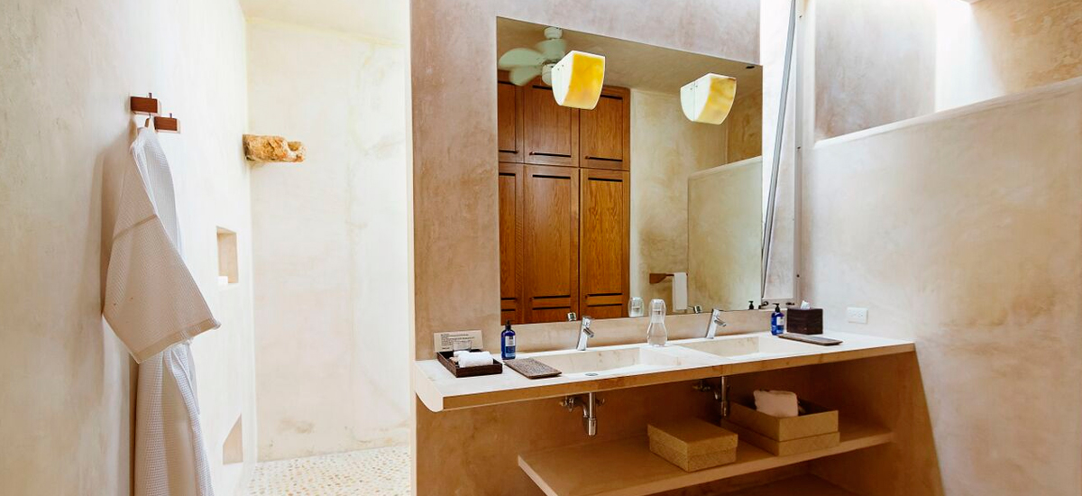 casa sisal bathroom