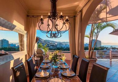 Casa Tabachin dinner room